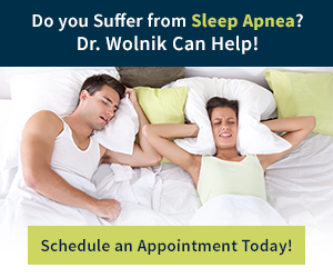 Sleep apnea treatment from Dr. Wolnik