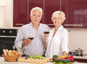 Older Couple Drinking Wine | Dr. Wolnik