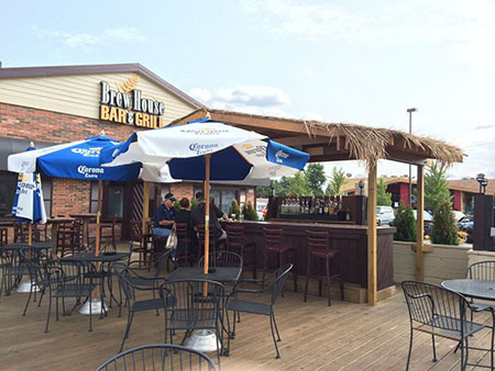 brew house outdoor patio | Doctor Kenneth Wolnik